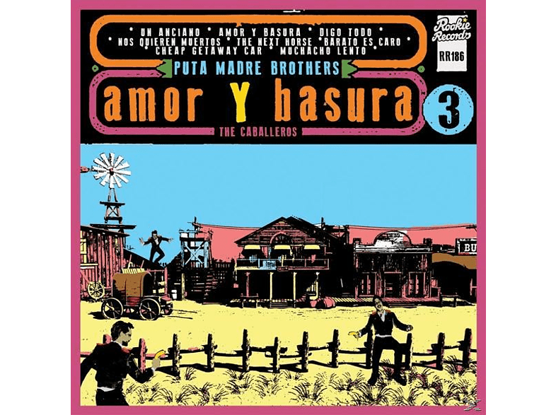 Puta Madre Brothers - Amor Y Basura [LP + Download]