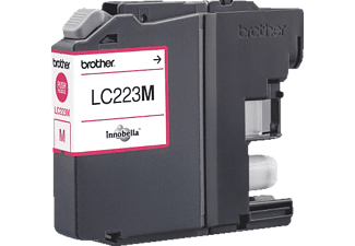 BROTHER Original Tintenpatrone Magenta (LC-223M)