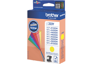 BROTHER Original Tintenpatrone Gelb (LC-223Y)