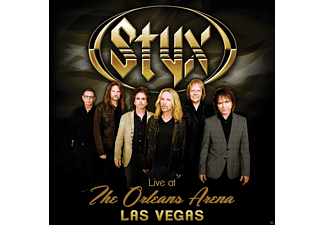 Styx - Live at the Orleans Arena Las Vegas (CD)