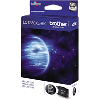 BROTHER Original Tintenpatrone Schwarz (LC-1280XLBK)