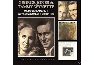 George Jones, Tammy Wynette - Me & The First Lady/We're Gonna Hold On/Golden Ring - (CD)