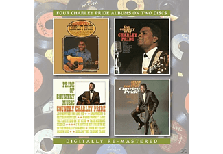 Charley Pride - Country Charley Pride/The Country Way/Pride Of Country Music/Make Mine Country [CD]