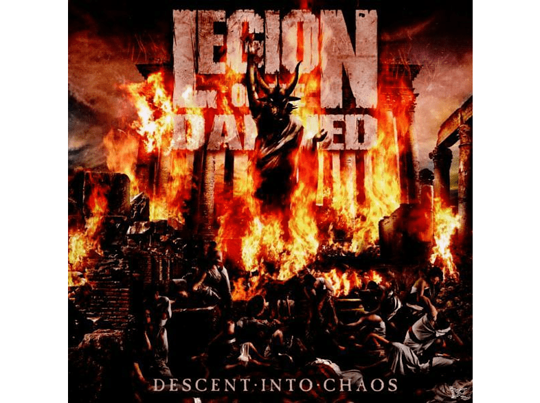 Legion Of The Damned - Descent Into Chaos [CD]
