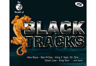 VARIOUS - W.O.Black Tracks - (CD)