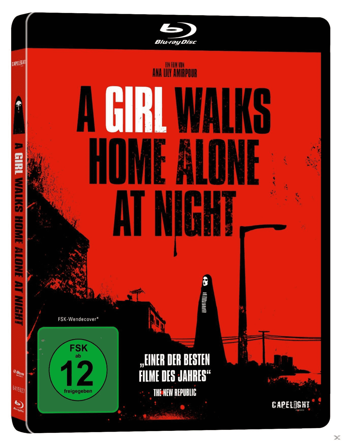 A Girl Walks Home Alone at Night - (Blu-ray)