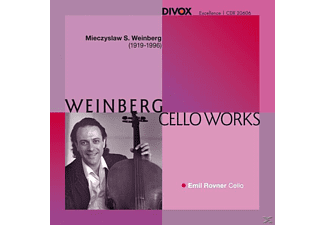 Emil Rovner - Cello Works - (CD)
