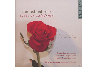 David Concerto Caledonia/mcguinness - The Red Red Rose - (CD)