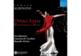 Ana Quintans, Marcello Di Lisa, Concerto De' Cavalieri - Opera Arias And Instrumental Music - (CD)