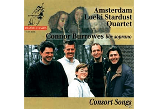 Burrows & Amsterdam Loeki Stardu, Burrows/Amsterdam Loeki Stardust Quartet - Consort Songs - (CD)