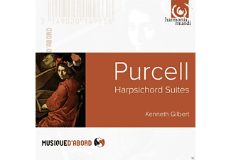 Kenneth Gilbert - Purcell: Harpsichord Suites - (CD)