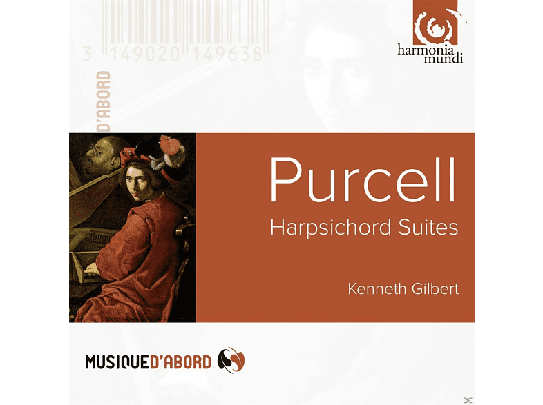 Kenneth Gilbert - Purcell: Harpsichord Suites [CD]