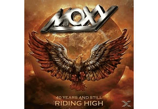 Moxy - 1974 To 2014 - 40 Years And Still Riding - (CD + DVD)