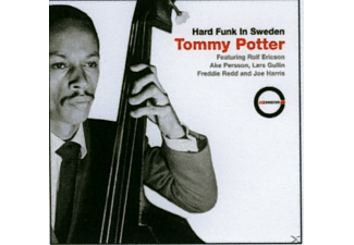 Tommy Potter - Hard Funk in Sweden - (CD)