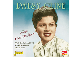 Patsy Cline - Just Out Of Reach - Two Early Albums Plus Singles 1955-1961 (CD)