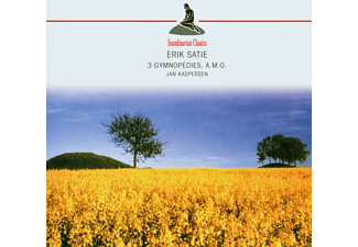 Jan Kaspersen - 3 Gymnopedies Uva (Satie, Erik) - (CD)