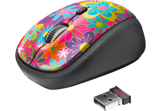 TRUST Souris sans fil Yvi Flower Power (20250)