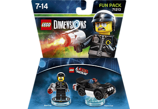 LEGO DIMENSIONS LEGO Dimensions Fun Pack - LEGO Movie Bad Cop Spielfiguren