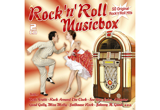 VARIOUS - Rock'n'roll Musicbox-50 Original Hits [CD]