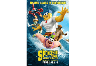 SpongeBob Movie - Spons Op Het Droge Blu-ray