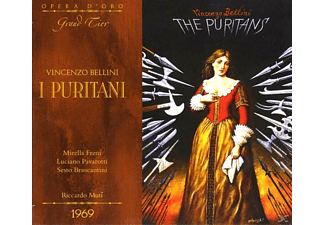 VARIOUS, Freni/Pavarotti/Bruscantini - I Puritani (Rome 1969) - (CD)