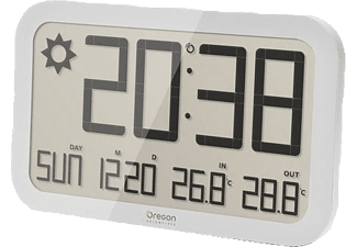 OREGON SCIENTIFIC Jumbo barometer clock wit (JW 108 WHITE)