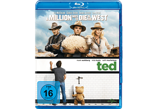 A Million Ways to Die in the West & Ted - (Blu-ray)