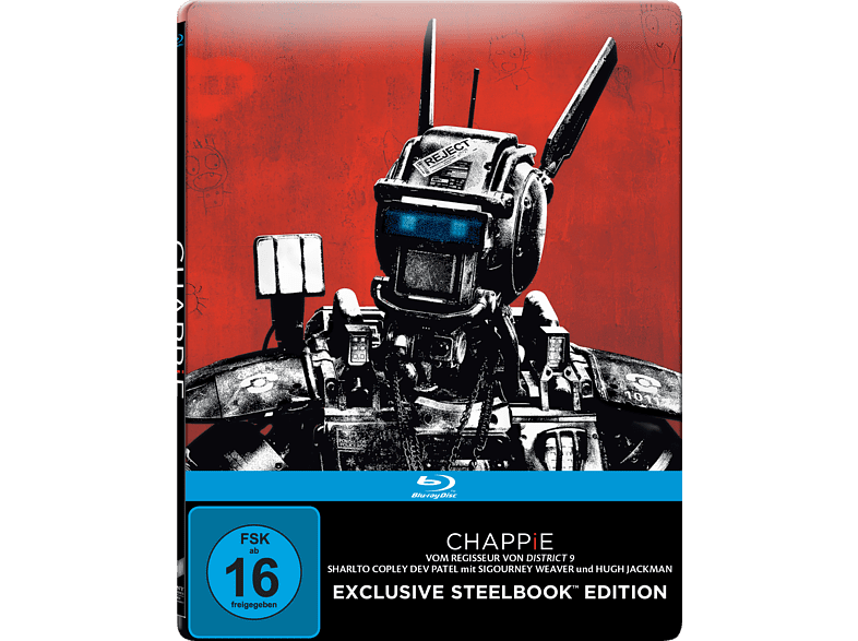 Chappie (Exklusive Steelbook Edition) [Blu-ray]