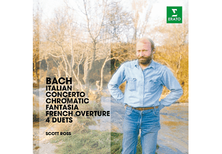 Scott Ross - Bach: Italian Concerto, Chromatic Fantasia, French Overture & 4 Duettos [CD]