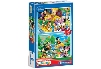 PUZZLE MICKEY MOUSE 2X20 CLEMENTONI - (07006)