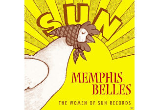 VARIOUS - Memphis Belles-Sun Rec.Women - (CD)