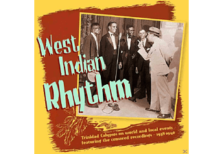 VARIOUS - West Indian Rhythm - (CD + Buch)