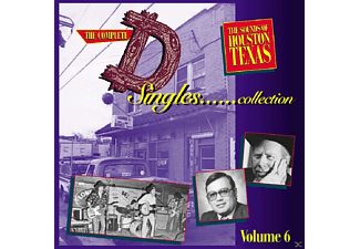 VARIOUS - Vol.6, The  D  Singles 4 C - (CD)