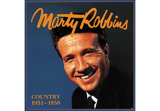Marty Robbins - Country 1951-1958  5-CD & Book - (CD + Buch)