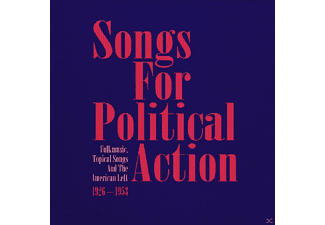 VARIOUS - Songs For Political Action  10 - (CD)