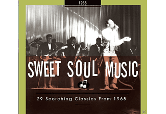 VARIOUS - Sweet Soul Music-29 Scorching Classics From 1968 - (CD)