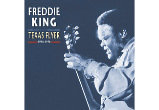 Freddie King - Texas Flyer, 1974-1976 [CD + Buch]