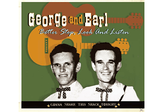 George & Earl (george Mccormick And Earl Aycock) - Better Stop, Look And Listen - (CD)