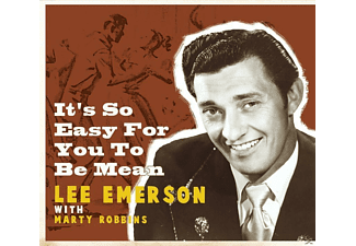 Robbins, Marty / Emerson, Lee - It's So Easy For You To Be Mean - (CD)