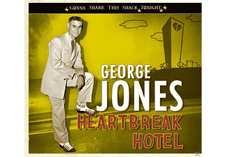 George Jones - Heartbreak Hotel - Gonna Shake This Shack Tonight - (CD)
