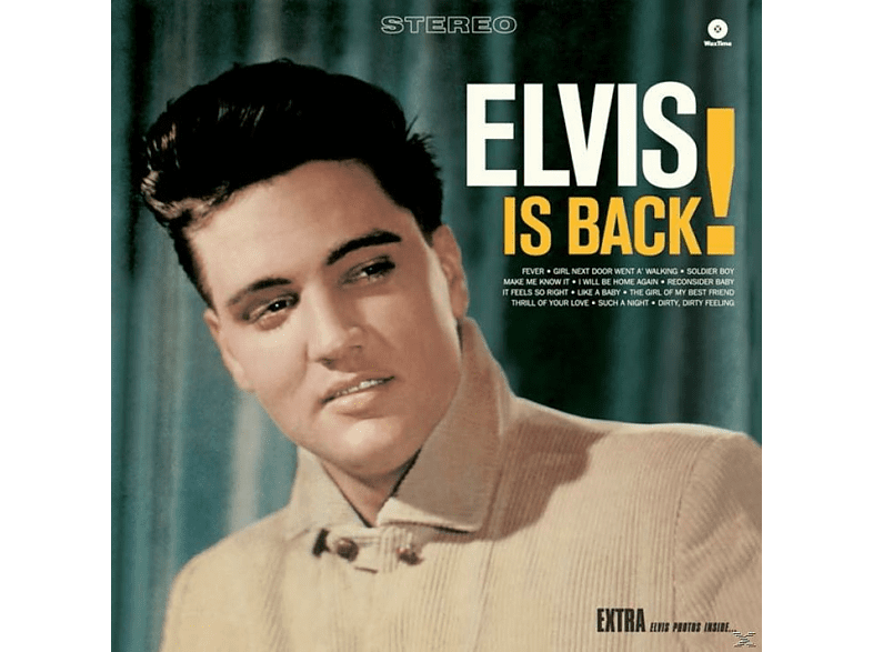 Elvis Presley - Elvis Is Back+4 Bonus Tracks (Ltd.Edt 180g Viny [Vinyl]