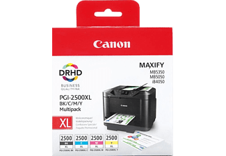 CANON CAN94385 PGI 2500XL BK C M Y Multipack
