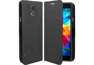 SBS MOBILE Galaxy S5 Book Case Faux Leather - Svart