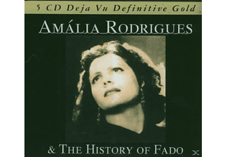 Amália Rodrigues - The History Of Fado - (CD)