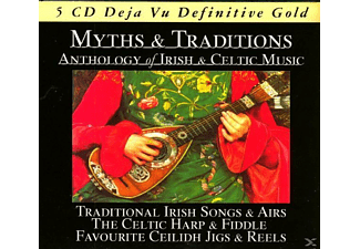 VARIOUS - Myths & Traditions-Irish & Celtic - (CD)