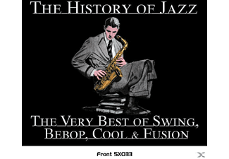 VARIOUS - The History Of Jazz/Swing To FDEFINITIVE GOLD SERIES - (CD)