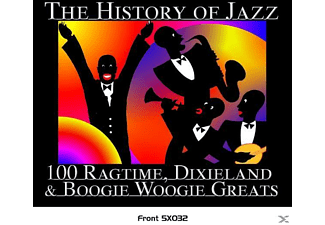 VARIOUS - The History Of Jazz/Ragtime ToDEFINITIVE GOLD SERIES - (CD)