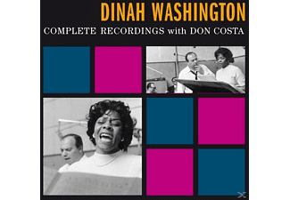 Dinah Washington - Complete Recordings With Don Costa+10 Bonus - (CD)