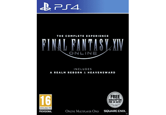 Final Fantasy XIV Online Heavensward & Realm Reborn PlayStation 4