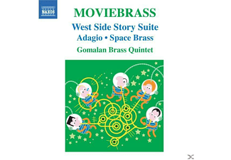 Gomalan Brass Quintet - Moviebrass - (CD)